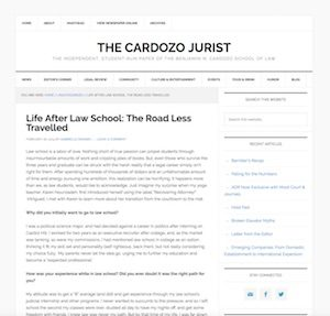 The Cardozo Jurist
