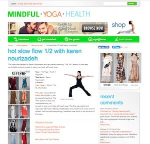 Mindful Health Yoga